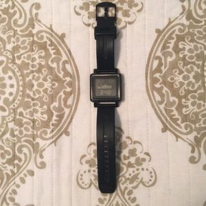 Nixon black digital watch